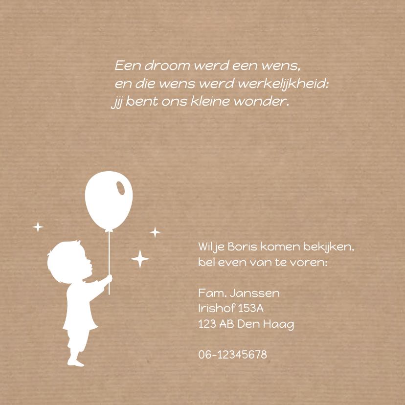 Jongen trekeend kraft geboorte 2