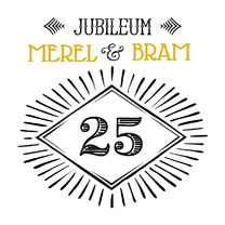 Jubileumkaarten - Jubileum 25 handlettering OT