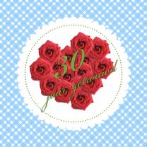 Jubileumkaarten - jubileum - 30 jaar getrouwd