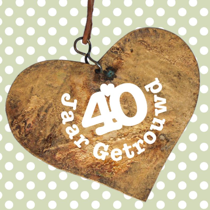 jubileum 40 jaar huwelijk 40 Jaar Huwelijk Is: Veertig jaar getrouwd dat moet je vieren  jubileum 40 jaar huwelijk