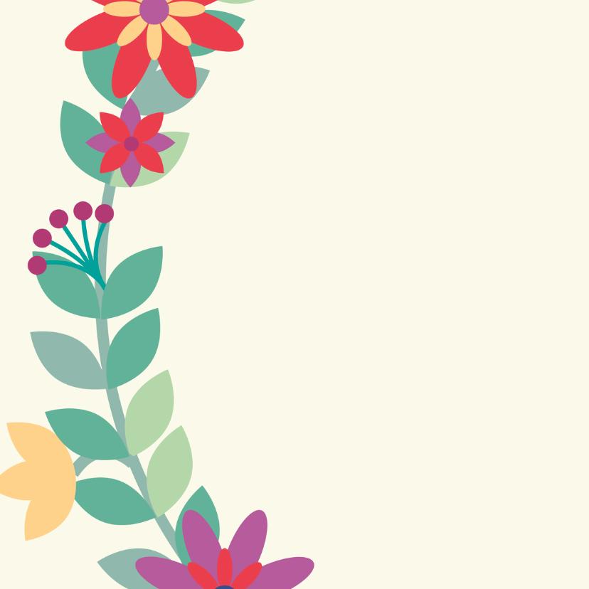 Jubileum bloemen 1 2