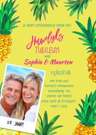 Jubileumkaarten - Jubileum Huwelijk Zomerfeest
