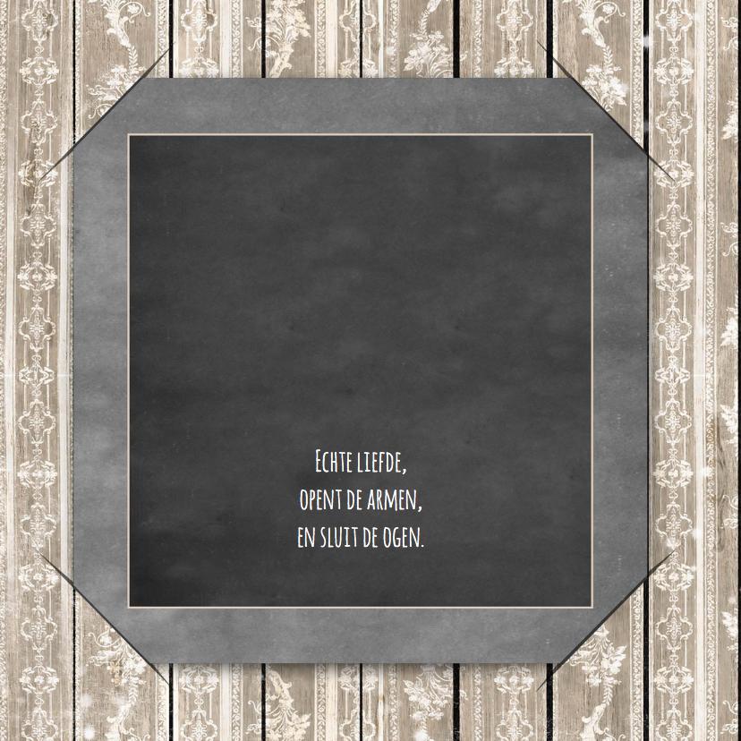 Jubileum krijtbord en hout 25  2
