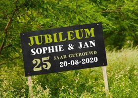 Uitnodigingen - Jubileum krijtbord natuur - OT