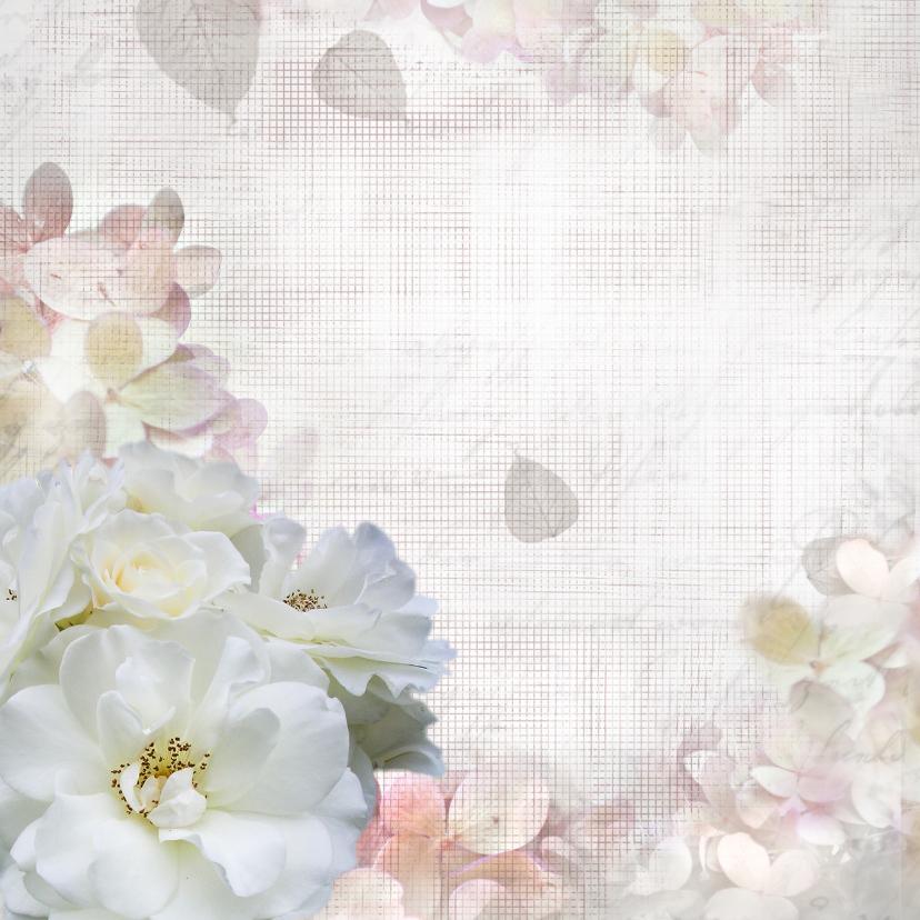 Jubileum met rozen en hortensia 2