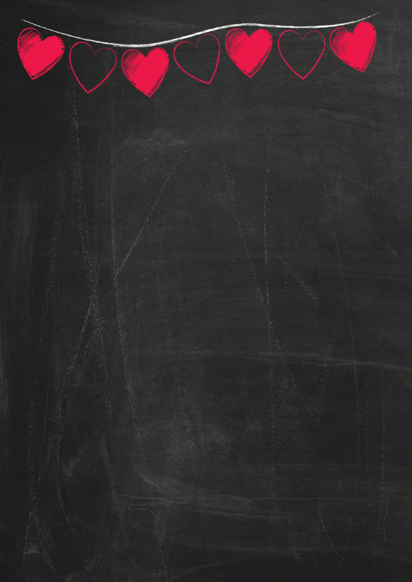 Jubileum op schoolbord-ByF 2