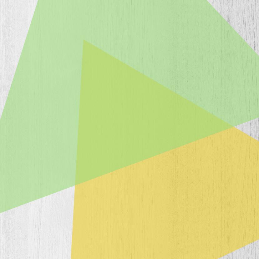 Jubileumkaart 5 jaar samen geometrisch - DH 2