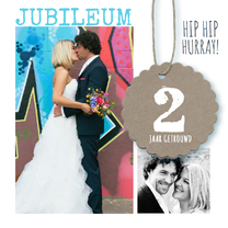 Jubileumkaarten - Jubileumkaart getrouwd foto's