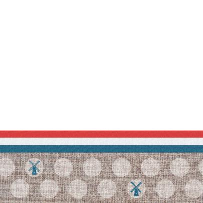 Jubileumkaart hollandse stijl 2