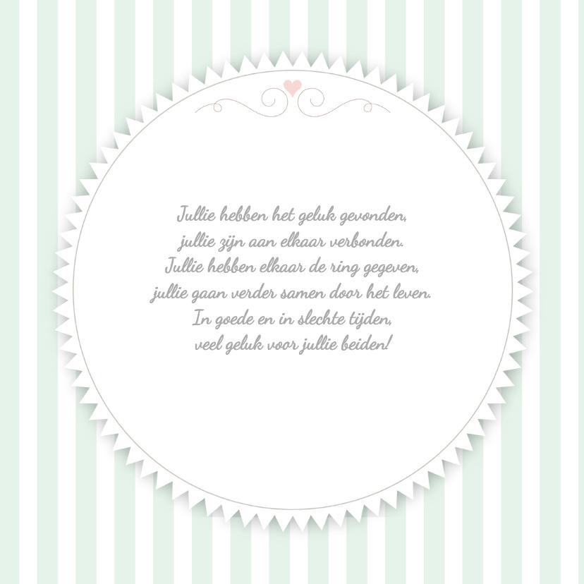 Just Married taart - TW 3