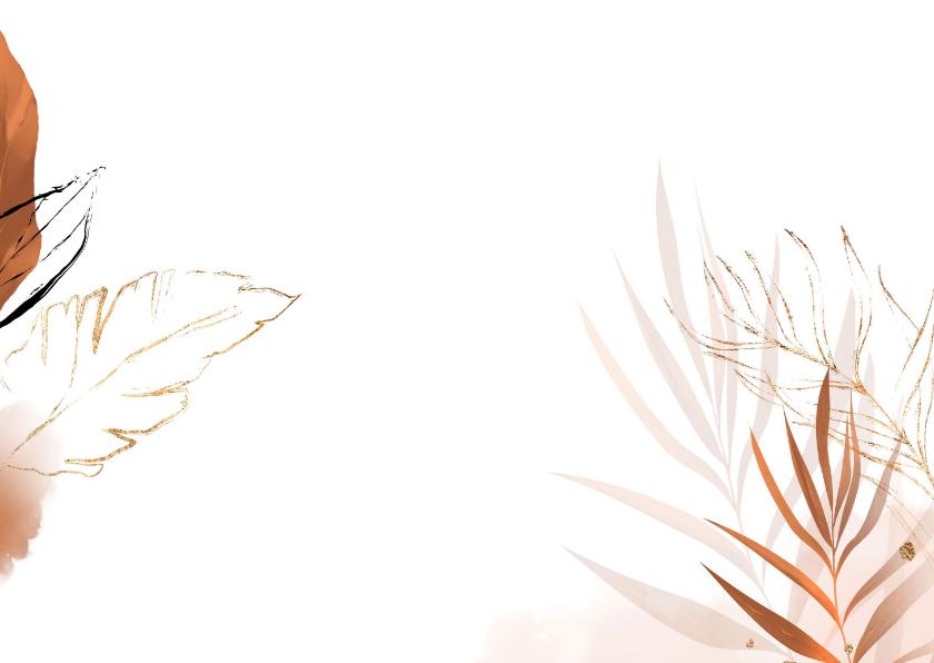 Kaart met LOVE letters van bloemen 2