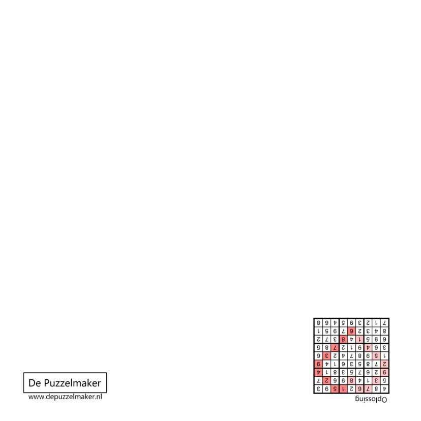 Kaart met sudoku in hartvorm en hart in roze 2