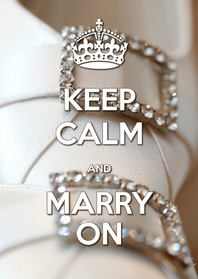 Uitnodigingen - Keep Calm and Marry On