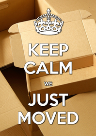 Uitnodigingen - Keep Calm - Moved Housewarming - OT