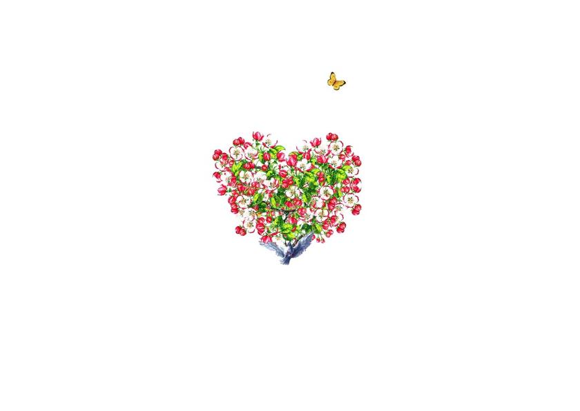 KendieKaart Moederdag Hearts 2