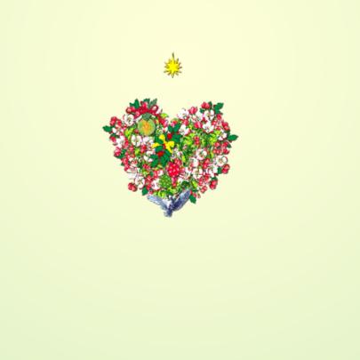 KendieKaart-NY-Blossom hearts 2