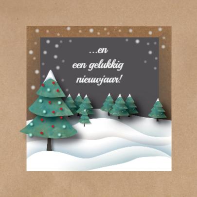Kerst - Brown Paper Kerst - MW 2