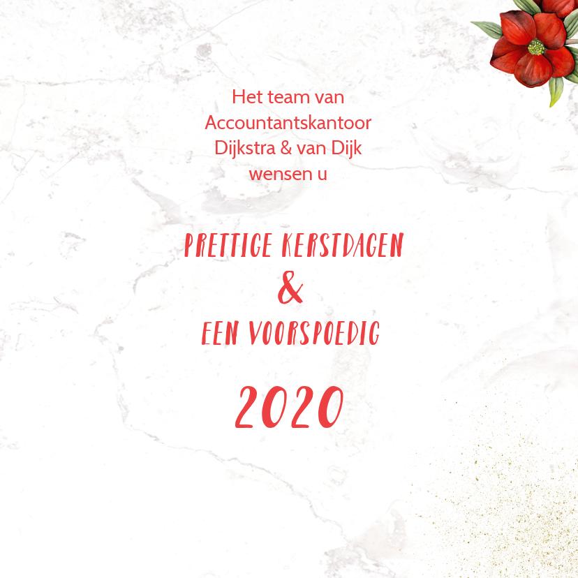Kerst champagne roodborstje 3