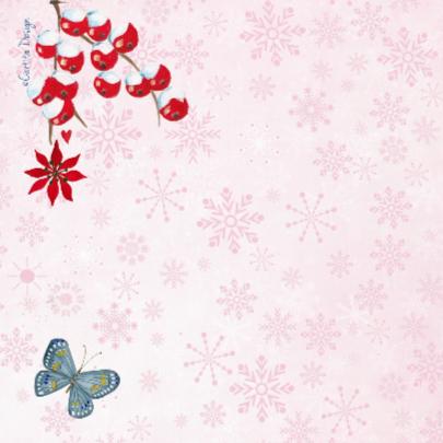 Kerst foto collage PINK SNEEUW 2