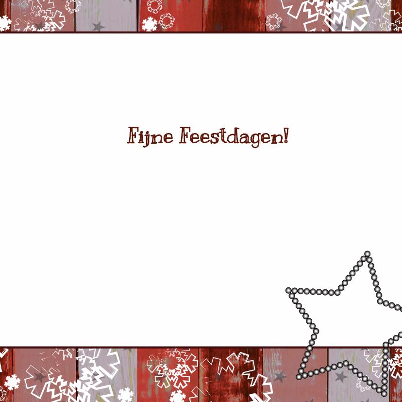 Kerst foto rood krijtbord boom V 3