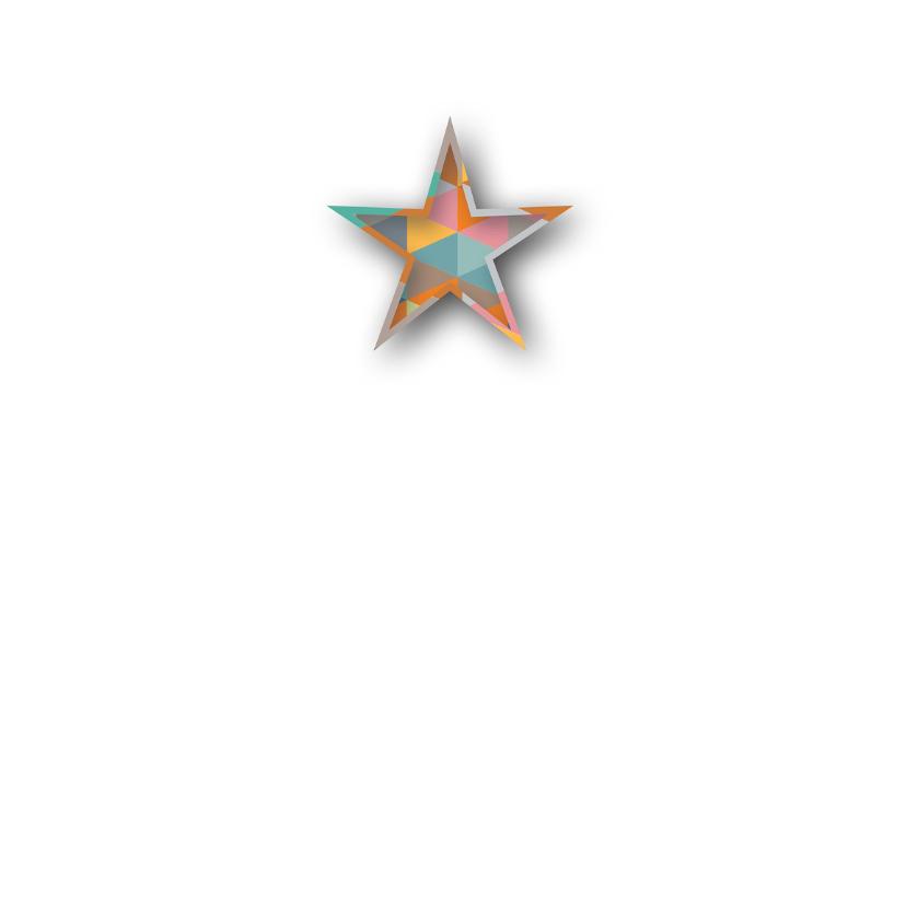 Kerst - Geo Shaped Stars - MW 2