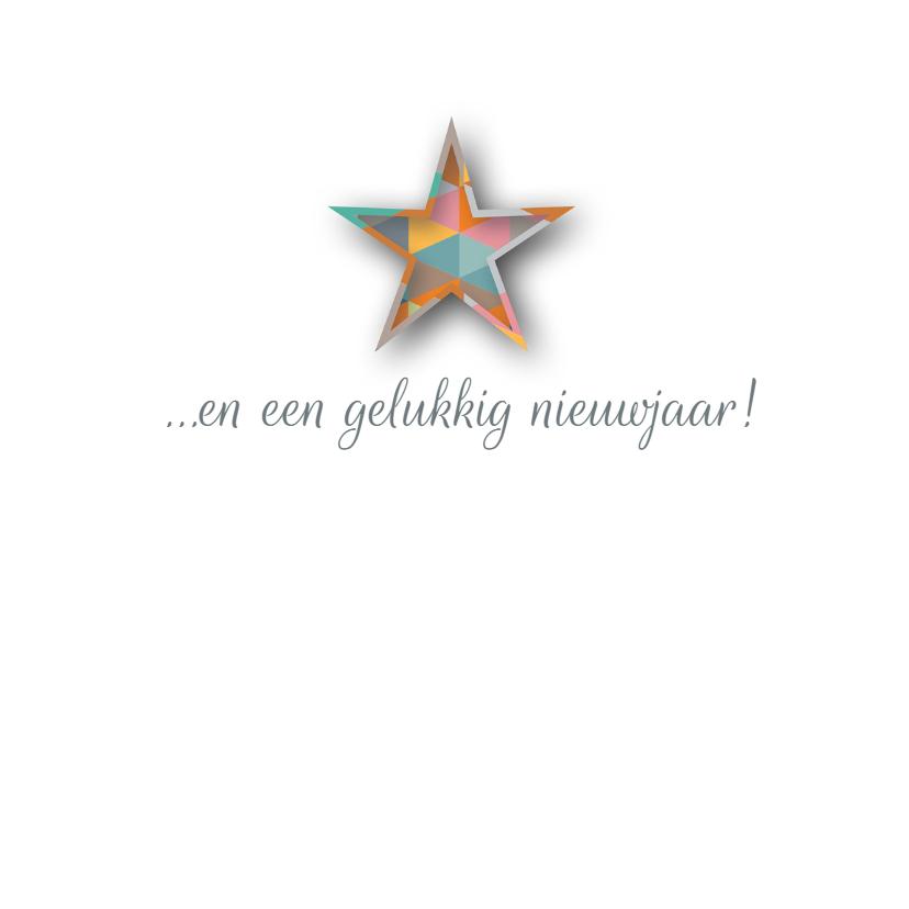 Kerst - Geo Shaped Stars - MW 3