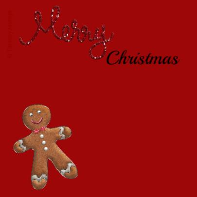 Kerst Gingerbread Ballon - TbJ 2