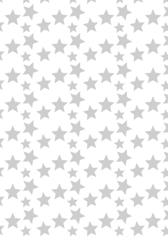 Kerst grafisch met sterren-ByF 2