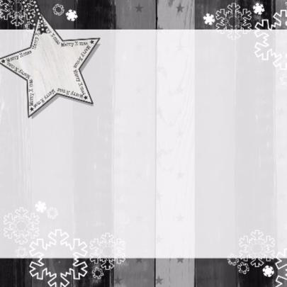 Kerst grijs hout foto Vknt-HB 2