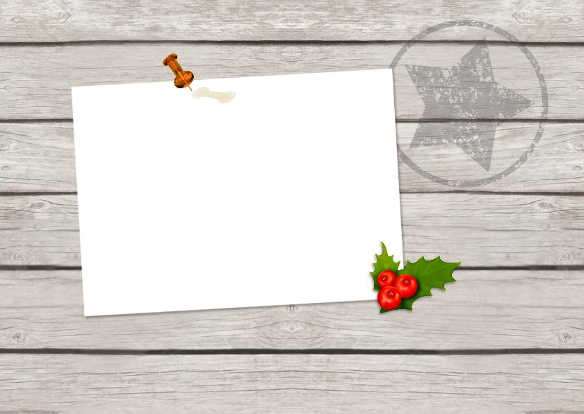 Kerst groeten - fotokaart 2