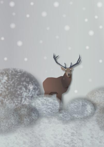 Kerst - Hert in 't bos - MW 2