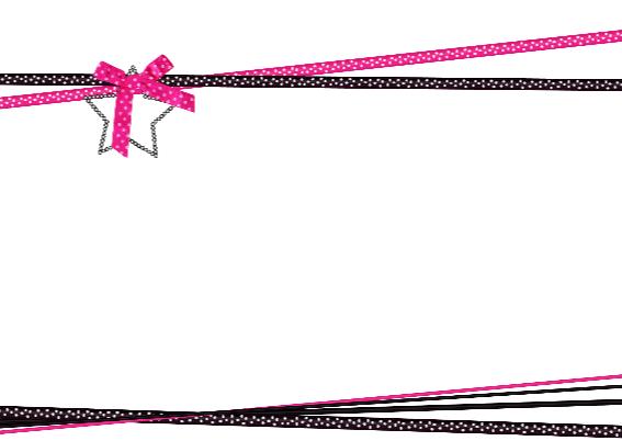 Kerst hout grijs lint roze L-HB 3