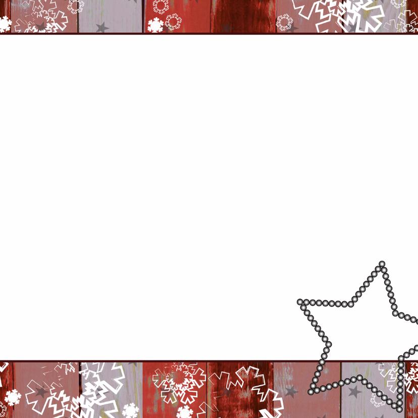 Kerst hout rood krijtbord boom V 3