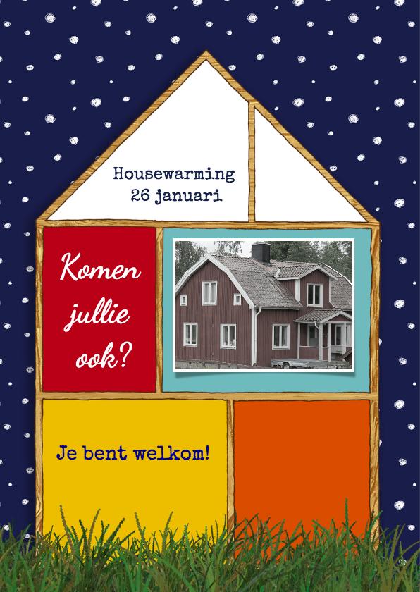 Kerst Huis Fotocollage - HR 2
