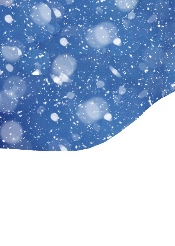 Kerst - Huis in de sneeuw 2