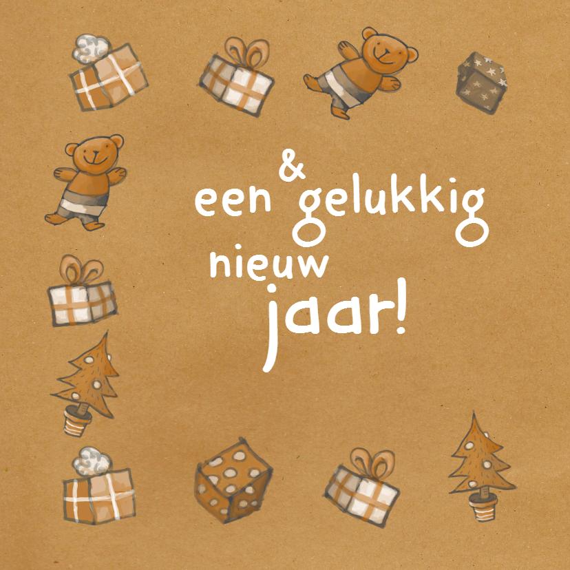 Kerst - Kerstman en cadeaus - MW 2