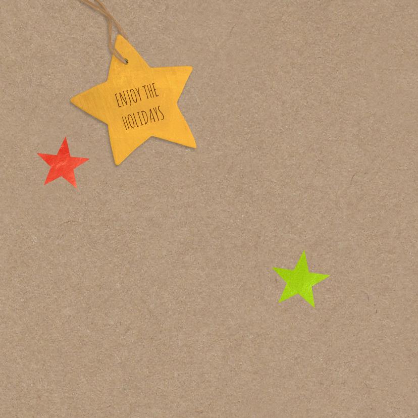 Kerst kleurige sterren boom 2