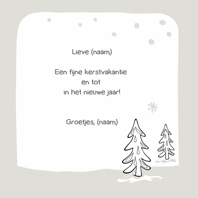 Kerst kleurplaat kaart-IR 3