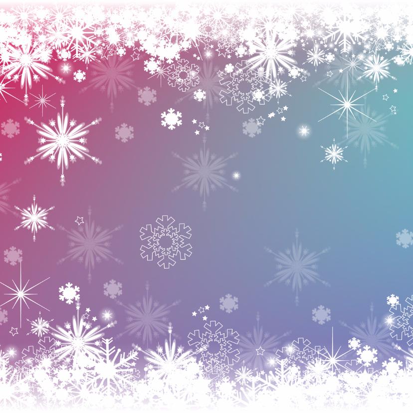 kerst kleurrijke fotokaart 2