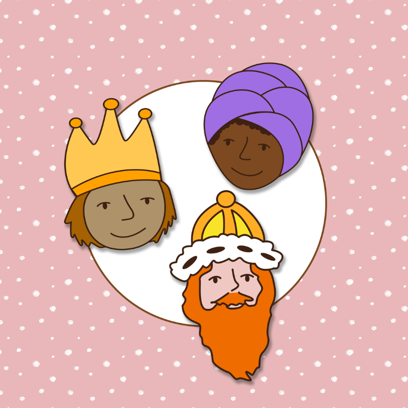 Kerst Koningen Roze 2