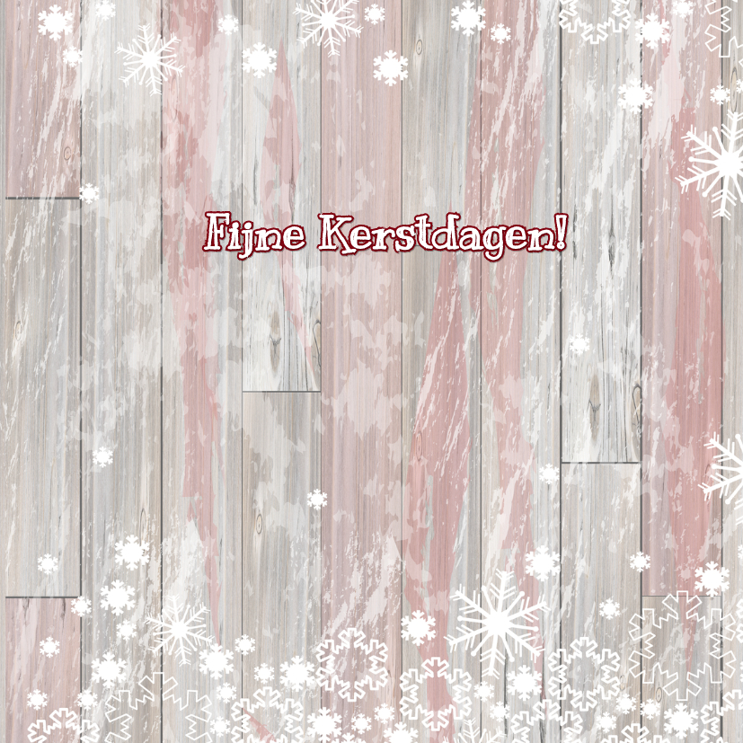 Kerst labels sneeuw V-HB 3