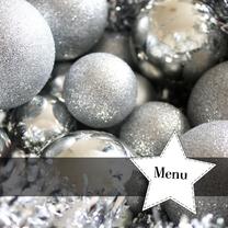 Menukaarten - Kerst menu