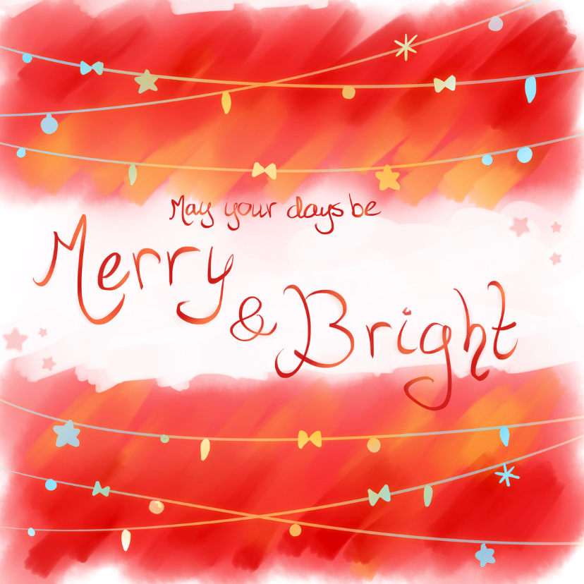 Kerst- Merry & Bright - PetPet