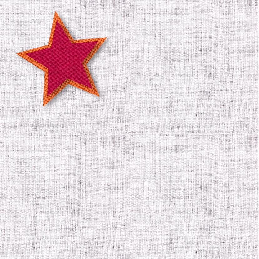 Kerst nieuwjaar ster stof 2