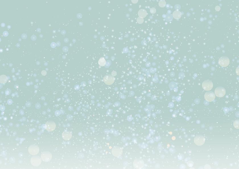 Kerst nieuwjaarskaart zakelijk sneeuw ME 2