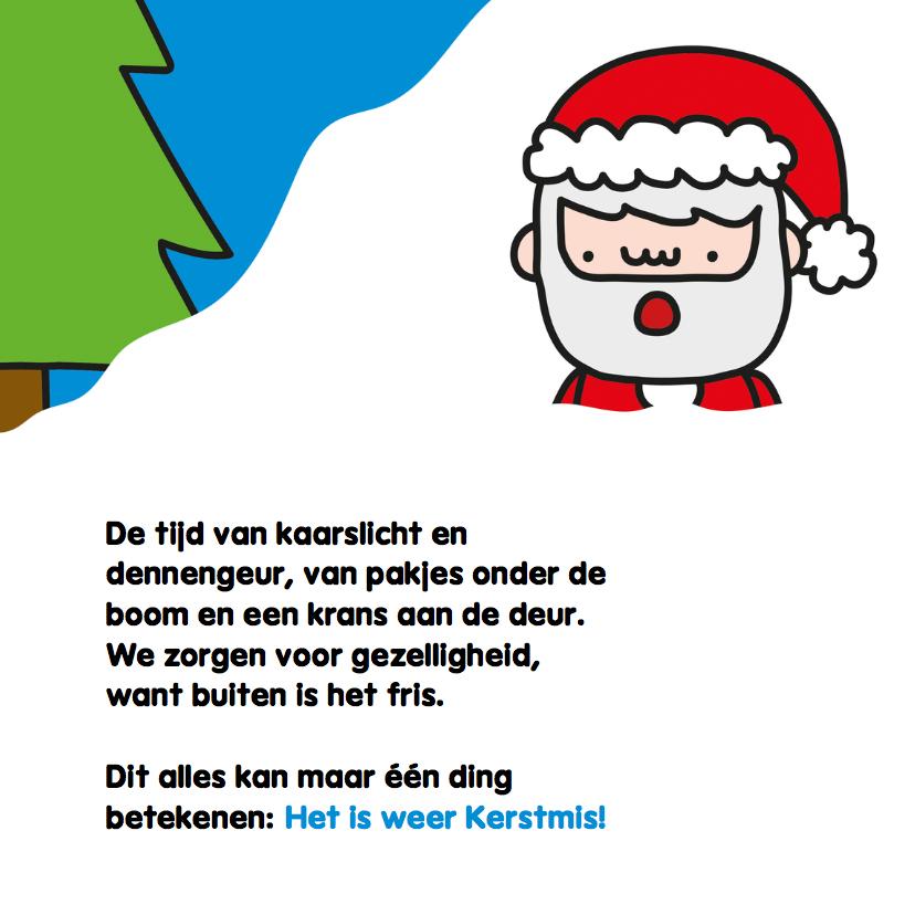 Kerst Rendier en Kerstman 3