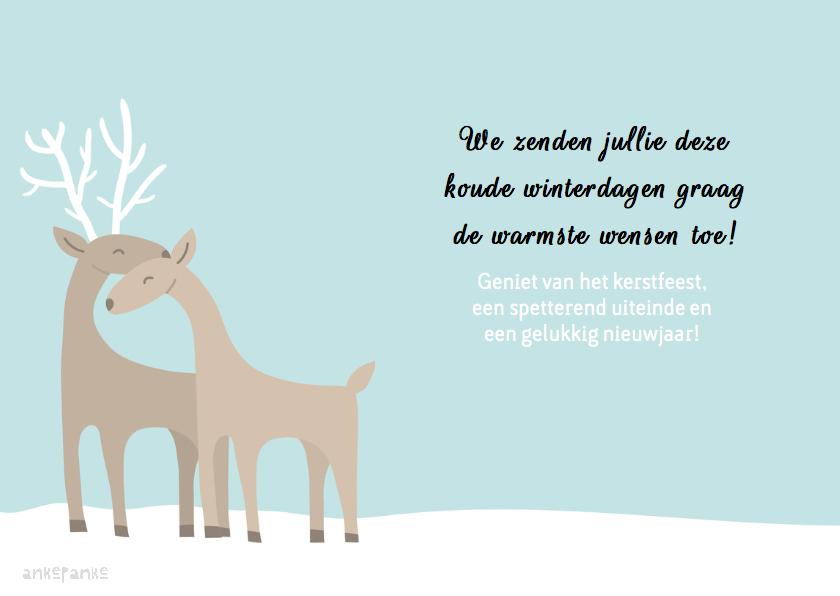 Kerst Rendieren 3