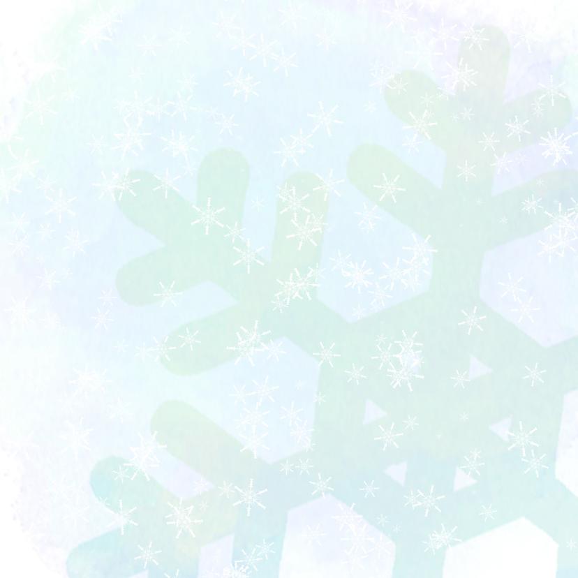 kerst Sneeuwpop pastel 2