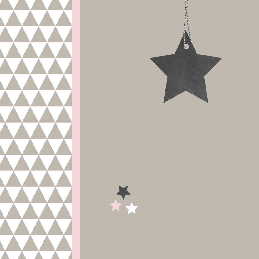 Kerst - ster en driehoekjes 2