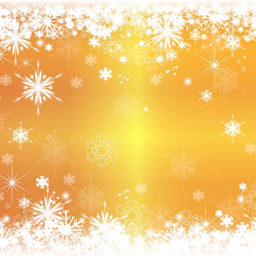 Kerst stijlvol fotokaart sneeuw 2
